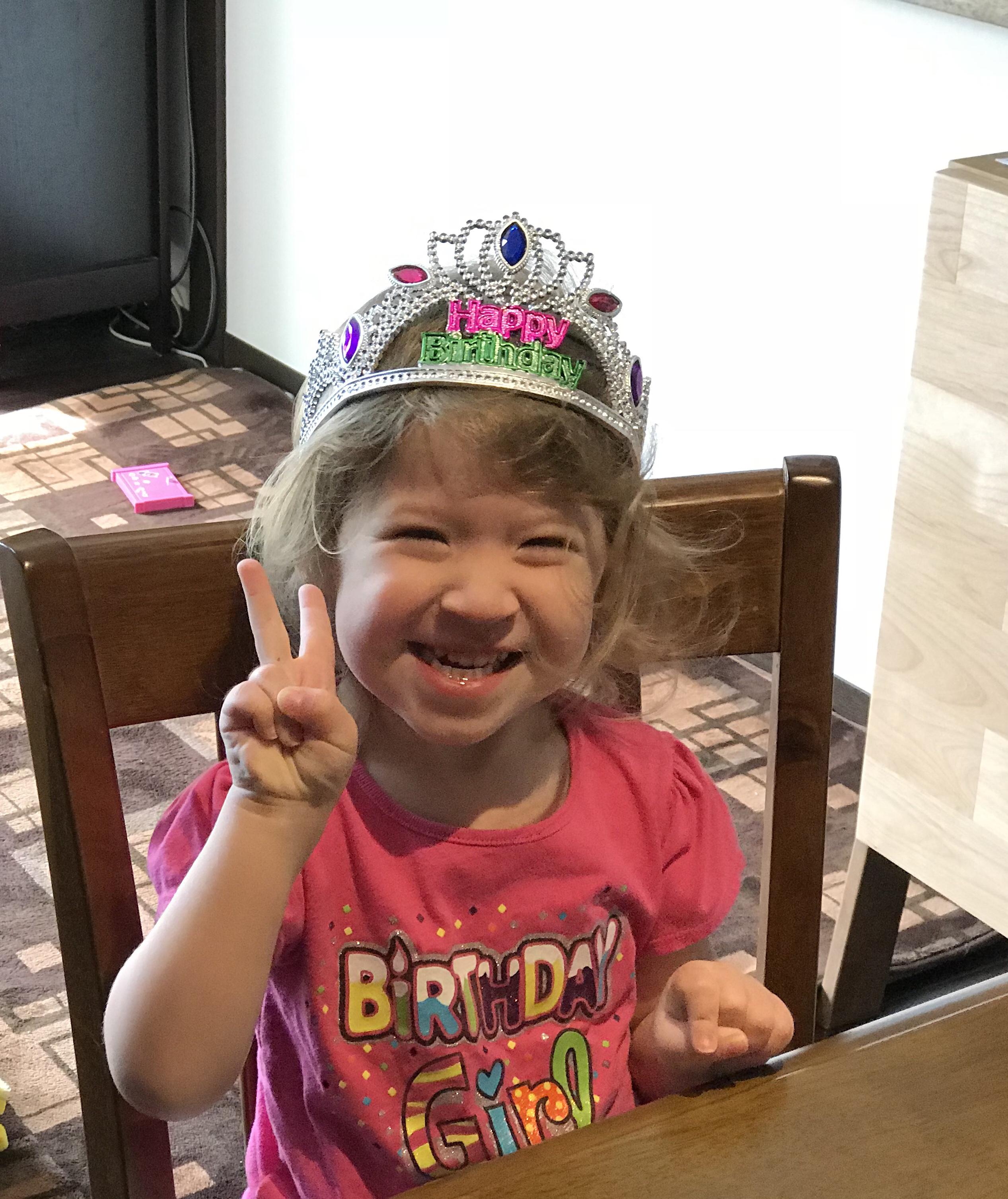 Happy 3rd Birthday Lia! 9/30/18